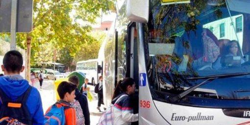 Ayudas Individualizadas al Transporte Escolar alumnos del pasado curso